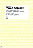 Ok�adka: Twardowski Romuald, Trio m�odzie�owe na skrzypce, wiolonczel� i fortepian (partytura+g�osy)