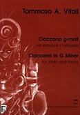 Ok�adka: Vitali Tomaso Antonio, Ciaccona g-moll