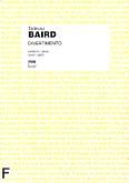 Ok�adka: Baird Tadeusz, Divertimento na flet, ob�j, klarnet i fagot (partytura+g�osy)
