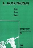 Okładka: Boccherini Luigi Rodolpho, Menuet z kwintetu smyczkowego A-dur op. 13 nr 5