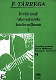 Ok�adka: T�rrega Francisco, Preludia i mazurki II