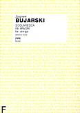 Okładka: Bujarski Zbigniew, Scolaresca na orkiestrę smyczkową (partytura)
