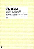 Okładka: Bujarski Zbigniew, Kwartet na Wielkanoc na kwartet smyczkowy (partytura+głosy)