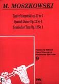 Okładka: Moszkowski Maurycy, Taniec hiszpański op. 12 nr 1