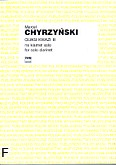 Ok�adka: Chyrzy�ski Marcel, Quasi Kwazi III na klarnet solo