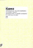Okładka: Radko Piotr, Introdukcja. Allegro barbaro