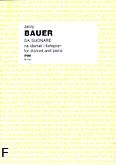 Okładka: Bauer Jerzy, Da suonare na klarnet i fortepian