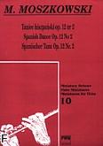 Okładka: Moszkowski Maurycy, Taniec hiszpański op. 12 nr 2