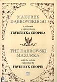 Okładka: Dubaj Mariusz, Mazurek Dąbrowskiego z refrenem w opracowaniu F. Chopina