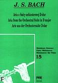 Ok�adka: Bach Johann Sebastian, Aria z Suity orkiestrowej D-dur