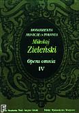 Ok�adka: Zieli�ski Maciej, Opera Omnia IV