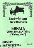 Ok�adka: Beethoven Ludwig van, Sonata quasi una fantasia - Ksi�ycowa