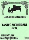 Ok�adka: Brahms Johannes, Taniec w�gierski nr 5