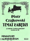 Ok�adka: Czajkowski Piotr, Temat �ab�dzi