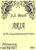 Ok�adka: Bach Johann Sebastian, Aria (z III Suity orkiestrowej D-dur)