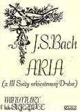 Okładka: Bach Johann Sebastian, Aria (z III Suity orkiestrowej D-dur)