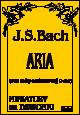 Okładka: Bach Johann Sebastian, Aria