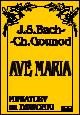 Okładka: Bach Johann Sebastian, Gounod Charles, Ave Maria