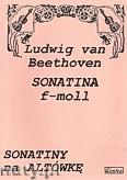 Okładka: Beethoven Ludwig van, Sonatina f-moll