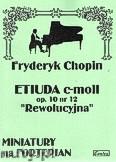 Okładka: Chopin Fryderyk, Etiuda c-moll op. 12 nr 10