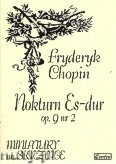 Ok�adka: Chopin Fryderyk, Nokturn Es-dur op. 9 nr 2