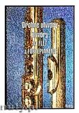 Okładka: , Drobne utwory na flet z fortepianem