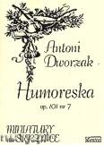 Okładka: Dvořák Antonin, Humoreska op. 101 nr 7