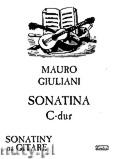 Okładka: Giuliani Mauro, Sonatina C-dur