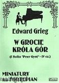 Ok�adka: Grieg Edward, W grocie Kr�la G�r, op. 46 nr 4