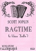 Ok�adka: Joplin Scott, Ragtime (z filmu ��d�o)