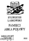Okładka: Laskowski S., Pamięci Arka Pojawy