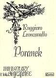 Okładka: Leoncavallo Ruggero, Poranek