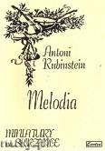 Ok�adka: Rubinstein Antoni, Melodia op. 3 nr 1