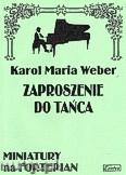 Okładka: Weber Carl Maria von, Zaproszenie do tańca