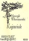Okładka: Wieniawski Henryk, Kujawiak