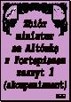 Okładka: , Zbiór miniatur na Altówkę z Fortepianem