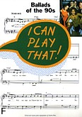 Ok�adka: , I can play that! Ballads of the 90's.