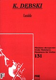 Okładka: Dębski Krzesimir, Cantabile