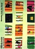 Okładka: Fedyczkowski Józef, Melodie świata w łatwym układzie na akordeon