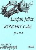 Ok�adka: Jelicz Lucjan, Koncert C-dur op. 4 nr 4