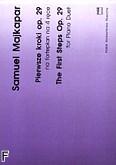 Okładka: Majkapar Samuel, Pierwsze kroki op.29