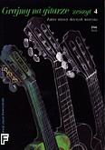Okładka: Powroźniak Józef, Grajmy na gitarze z.4, łatwe utwory dawnych mistrzów (solo)
