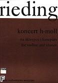 Okładka: Rieding Oskar, Koncert h-moll op. 35 (wyciąg fortepianowy)