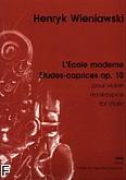Ok�adka: Wieniawski Henryk, L'�cole moderne op. 10