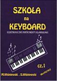 Okładka: Wiśniewski,  Szkoła na keyboard z.1