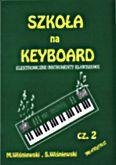 Okładka: Wiśniewski, Szkoła na keyboard z.2