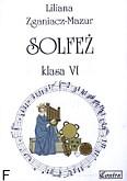 Okładka: Zganiacz-Mazur Liliana, Solfeż, klasa 6