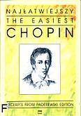 Okładka: Chopin Fryderyk, Najłatwiejszy Chopin