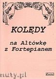 Okładka: , Kolędy na Altówkę z Fortepianem