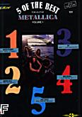 Ok�adka: Metallica, 5 Of The Best for Guitar - Metallica vol. 1